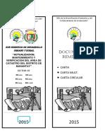 Caratula Folder Informes