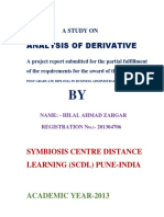 Project Report of Derivatives - PDF