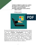 Las Adaptaciones Curriculares_el Largo Proceso... (Primera Parte)