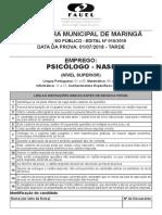Maringa_10_2018_Provas_07_01_Psicologo_NASF