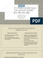 Konsep Utama Audit Dan Perencanaan Audit