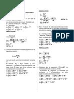 Semana 01 Analisis Dimensional - Vectores - Mru - Mruv - Solucionario