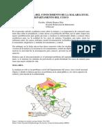 LA IMPORTANCIA DEL CONOCIMIENTO DE LA MALARIA EN EL DEPARTAMENTO DEL CUSCO(ARTICULO ACADEMICO).docx