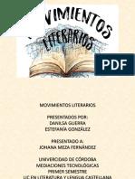 Movimientos Literarios Danilsa