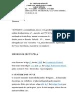 PEDIDO DE LIBERDADE PROVISÓRIA.odt