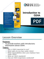 00. Intro to Osha Presentation