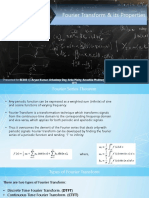 Fourier Transform and Its Properties