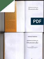 Livro Completo_problemas Da Poética de Dostoièvski