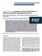 Assessment and Analysis of the Overall Situation of Women and Children