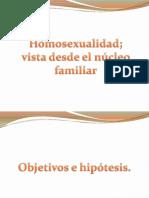 presentacion homosexualidad