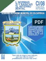PRINCIPIOS DE CONTROL INTERNO GUBERNAMENTAL