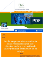Brochure PMD Group Sac