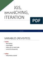 Lec2 Branch Loops