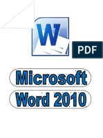 Manual de Word 2010 - Actualizado