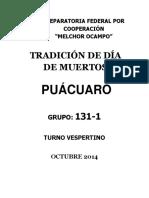 Dia de muertos en Puácuaro