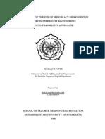 Poposal Analysis Speech Act in Harry Potter