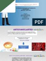 Anticoagulantes Orales, Antiagregantes Plaquetarios y Heparina