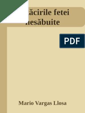 (PDF) Mario Vargas Llosa Ratacirile fetei nesabuite | Alina I Balaban - vipescorte.ro