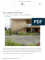 How to Design for Senior Citizens _ ArchDaily