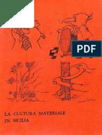 La Cultura Materiale in Sicilia Completo