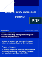Stages of the Contractor-Operator Relationship