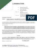 Accesso Civico Parere AdB Palazzetto Dello Sport
