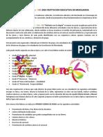 PROYECTO CARNAVALORES 2019 INSTITUCION EDUCATIVA DE MESOLANDIA.docx