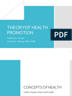 2_Theory of Health Promotion