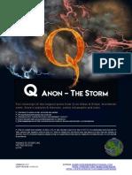 Q Anon the Storm X V