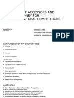 Board of Assessors and Prize Money for Architectural Competitions