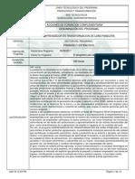 Programa de Formación Complementaria Panela