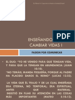 ENSEÑANDO PARA CAMBIAR VIDAS I.ppsx