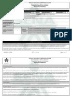 Reporte Proyecto Formativo - 1594415 - Produccion de Derivados de La
