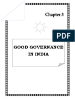 History of good governance in india