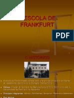 A TEORIA CRTICA Escola de Frankfurt