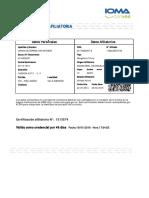 Certificación Afiliatoria Candia Gutierrez Ivan Antonio