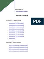 variable compleja
