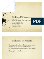 Making Differences Ordinary in Inclusive Classrooms_McLeskey