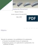 Optimización Estructural