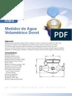 Medidor Domestico de Agua Dorot