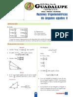 T_4°Año_S7_razones trigonométricas de ángulos agudos II