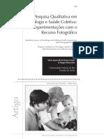 Pesquisa Qualitativa em Psicologia