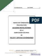 Inspeccion Termografica Folch y Apoyos