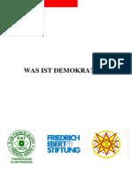 Demokratie Broschüre
