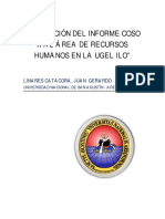 Informe Coso II - RRHH Ugel Ilo