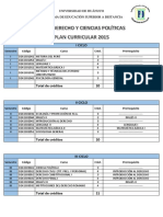 Plan Udh Derecho 2015