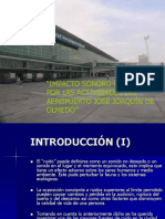 Impacto Sonoro Provocado Por Las Actividades Del Aeropuerto