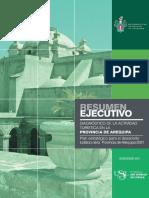 Diagnostico de la actividad turistica en Arequipa