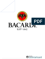 Bacardi Cocktail Card