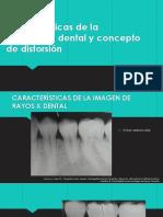 Características de La Radiografía Dental